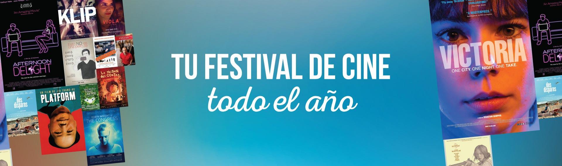 Tu festival de cine todo el año